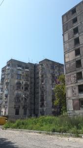 Sowjetische Plattenbauten