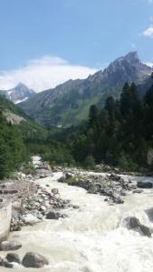 Am Weg zum Gletscher