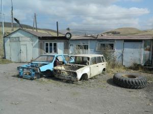 Schiksal aller armenischen Autos